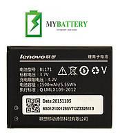 Оригинальный аккумулятор АКБ батарея Lenovo BL171 A376 A358 A319 A356 A500 A390 A390T A65 A50 A368 A370E