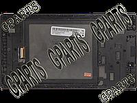 Модуль (тачскрин + экран в сборе) для планшета Lenovo TAB 2 A7-30HC / A7-30F / A7-30DC (), чёрный с