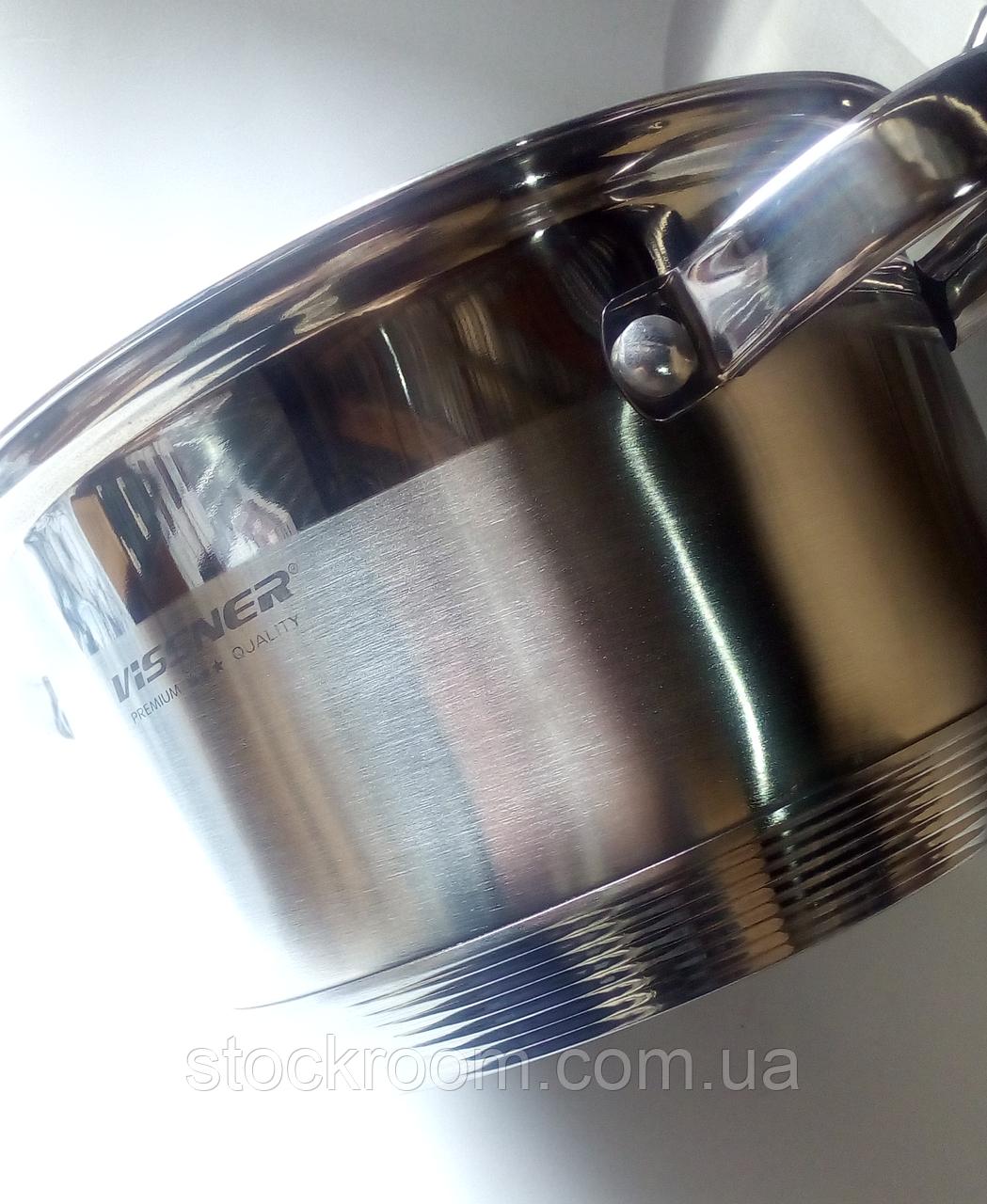 Набор посуды Vissner VS 12100 (6 кастрюль)