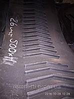 Лента  конвейерная /транспортерная с поперечними резиновыми планками  производитель ЧАО  «БЕРТИ» БКНЛ-65-125-0