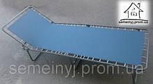 Раскладушка Ретро на металлическом каркасе