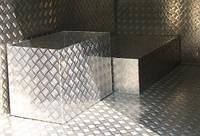 Лист рифленый квинтет 4*1500*3000 алюминий.