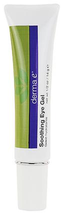 Derma E, антивозрастной успокаивающий гель для век с пикногенолом, фото 2