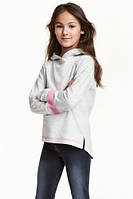 Кофта с капюшоном для девочки H&M р.134-164 (арт.78006)
