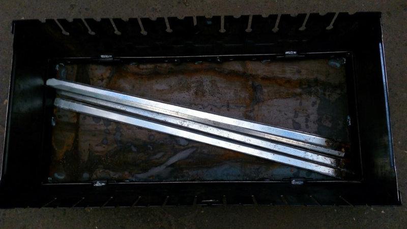Мангал разборной для отдыха 2 мм ,Украина   12 шампуров