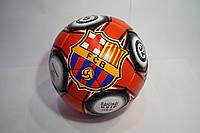 Мяч футбольный Гриппи-5 BARCELONA красно-черный