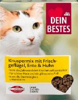 Dein Bestes Trockenfutter fur Katzen сухой корм для кошек 1000 г (Германия)