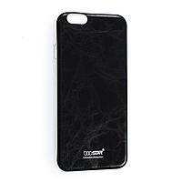 Чехол накладка IPhone 5 силиконовый под кожу