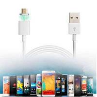 Магнитный кабель с разъемом micro USB. Защищает micro USB разъем телефона