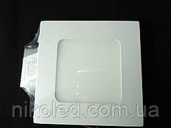 Светильник точечный Slim LED 6W квадрат 4000К NL премиум