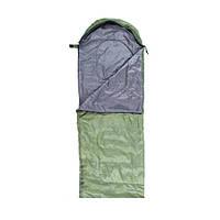 Спальник туристический для похода Green Camp