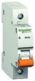 Автоматические выключатели Schneider Electric 1полюсные