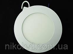 Светильник точечный Slim LED 9W круглый  холодный белый