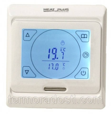 Heat Plus M9.716 sensor программатор сенсорный теплого пола (белый)