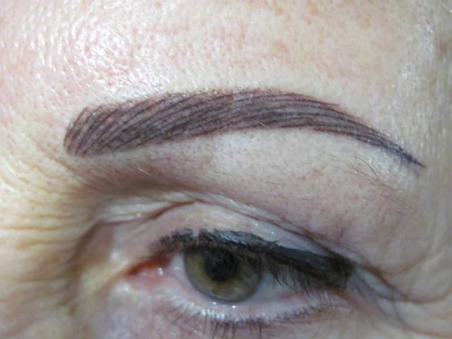 Перманентный макияж разных зон