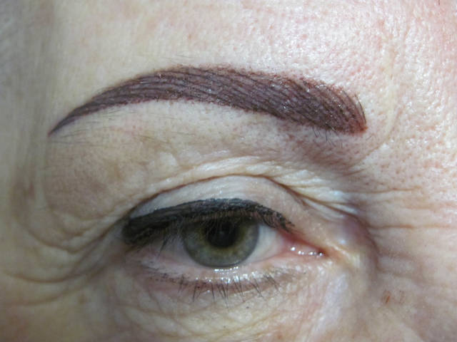 Перманентный макияж разных зон 1