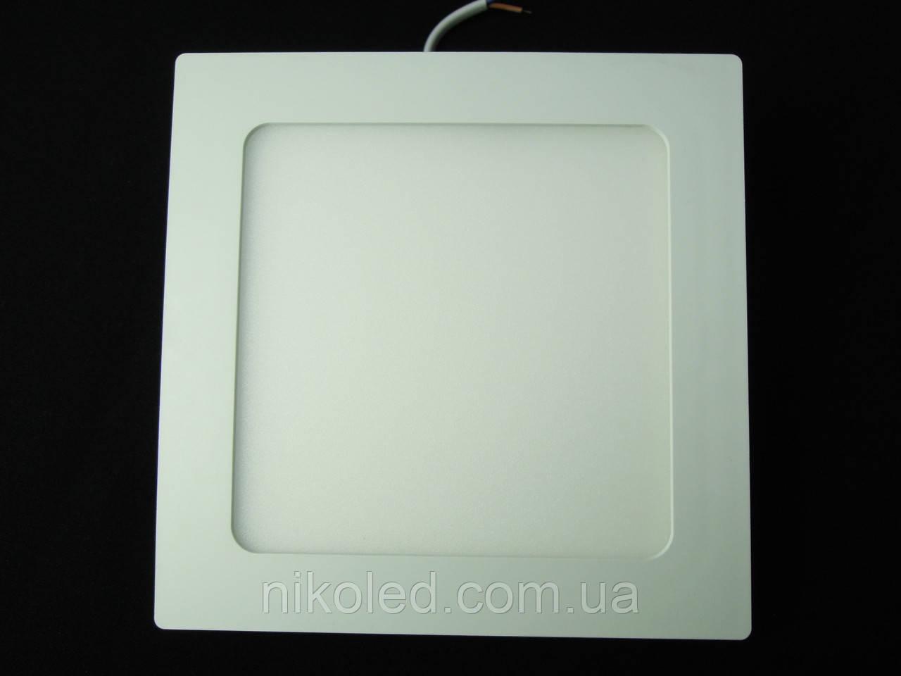 Светильник точечный Slim LED 12W квадрат