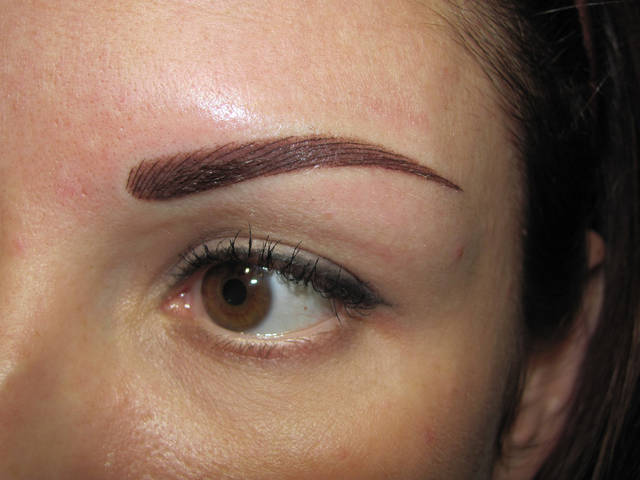 Перманентный макияж разных зон 5