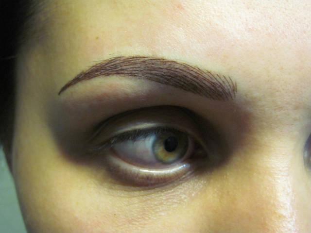 Перманентный макияж разных зон 6