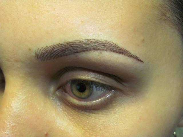 Перманентный макияж разных зон 7