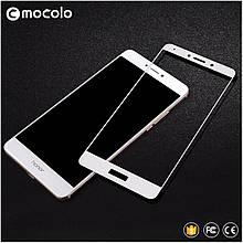 Защитное стекло Mocolo Full сover для Huawei GR5 2017 белый