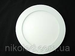 Светильник точечный Slim LED 12W круглый 4000К Нейтральный белый