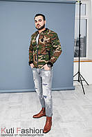 Куртка бомбер Military style
