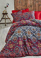Двуспальное постельное бельё Eponj Home NEW ADONIS KIRMIZI SV10