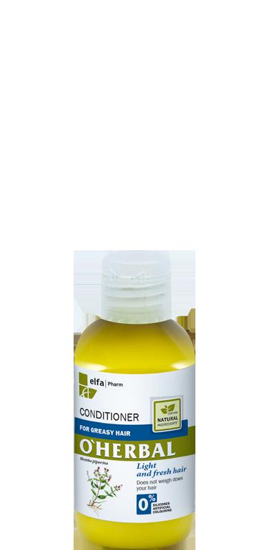 O'Herbal бальзам-кондиционер для жирных волос 75 мл (Пробник)
