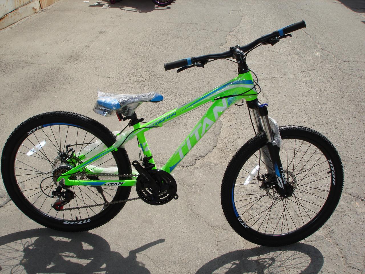 """Підлітковий велосипед Titan Scorpion 24"""" 2017"""