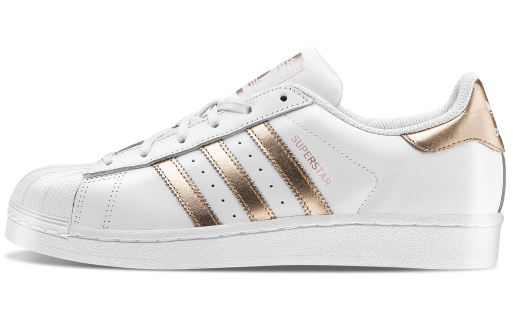 meet 56bf8 07f1c Кроссовки Adidas Superstar White Bronze
