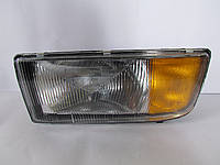 Фара левая Mersedes Axor-Actros (1996-2003) с поворотом