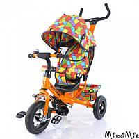 Велосипед трехколесный TILLY Trike T-351 ORANGE, Оранжевый