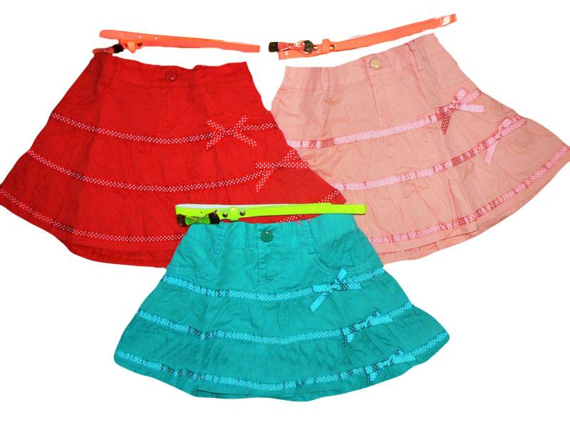 Юбка для девочек оптом, размеры 116-140, S&D, арт. CY-983