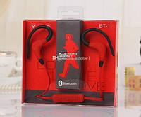 Беспроводная спортивная гарнитура BT-1 (Bluetooth, Mic.)