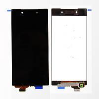 Дисплей (LCD) Sony E6603 Xperia Z5/ E6653/ E6683 с сенсором черный оригинал