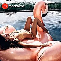 Modarina Надувний матрац Перламутровий Фламінго 190 см, фото 1