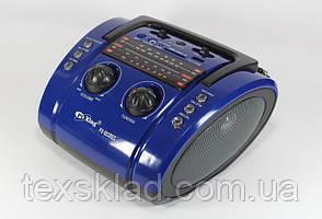 Портативное радио-бумбокс на аккумуляторе PX-003 (USB/аккумулятор)