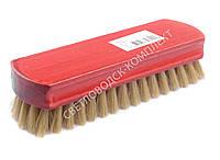 Щетка Тарри для полировки, натуральная щетина, С-12-52Щ, цв. красный