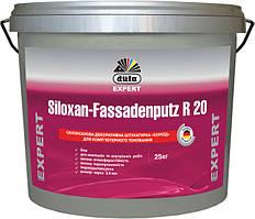 Силоксанова декоративна  штукатурка «короїд» Siloxan-Fassadenputz R, 25кг