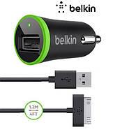 Автомобильное зарядное устройство Belkin 2 в 1 для iPhone iPad 4 / Air / Air 2 / Mini 2 3 4