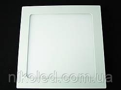 Светильник точечный Slim LED 18W квадрат  холодный белый