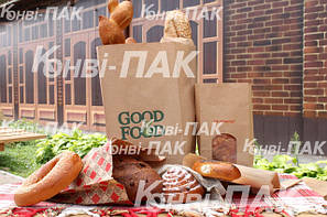 Пакеты бумажные для хлебобулочных изделий