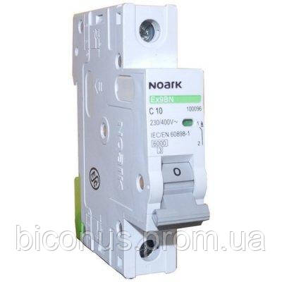 Автоматический выключатель Noark, Чехия, MCB Ex9BN 6kA (1полюс C 10А)