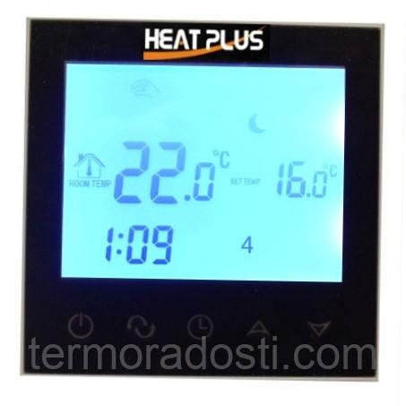 Heat Plus BHT-321GB sensor black программатор сенсорный для теплого пола (черный)