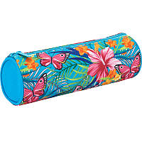 Пенал школьный Kite Tropical flower 640