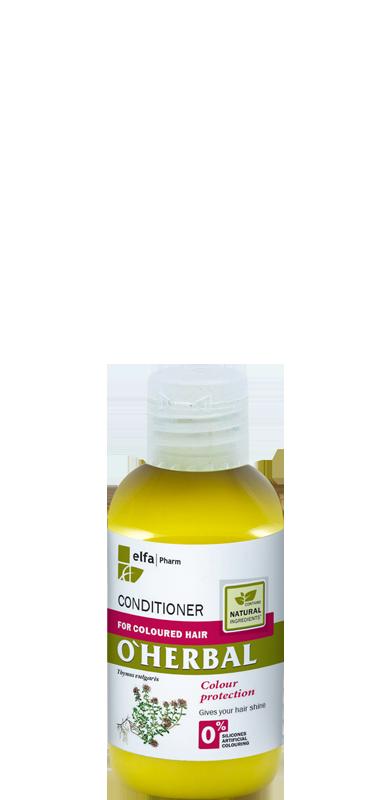 O'Herbal Бальзам-кондиционер для окрашенных волос 75 мл (Пробник)