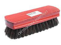 Щетка Тарри для полировки, конский волос, С-13-52В, цв. красный
