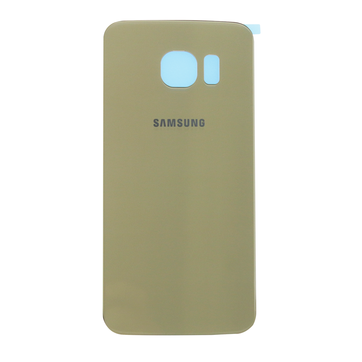 Задняя крышка Samsung G925F Galaxy S6 EDGE золотая оригинал