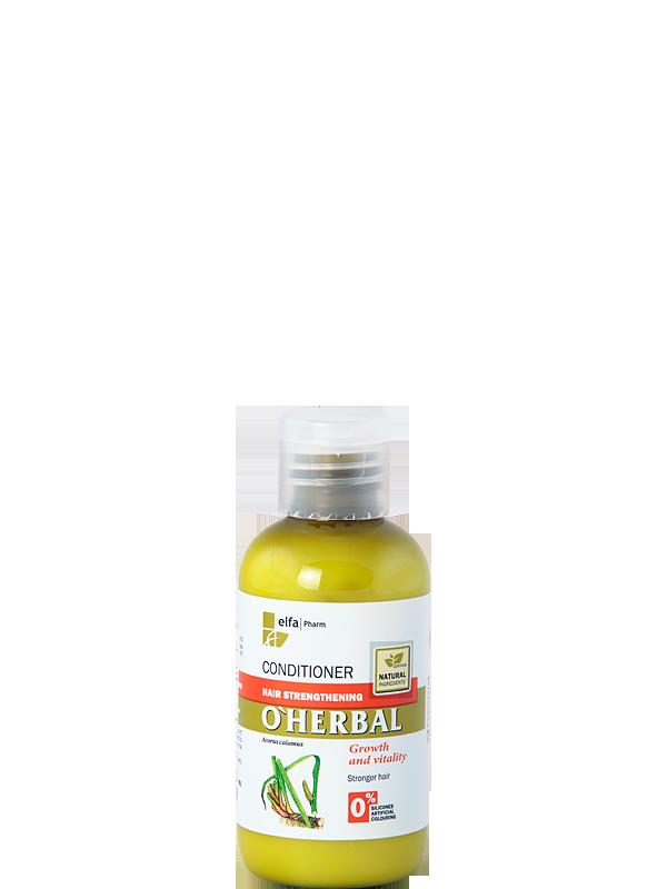 O'Herbal Бальзам-кондиционер для укрепления волос 75 мл (Пробник)